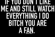 Dear haters...
