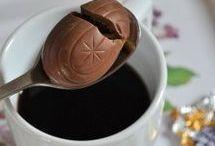 Easter eggs & coffee