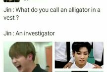Jin's dad jokes