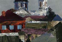 Paper Painting / коллаж (рвакля) Ирина Устинова