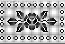 Esquema jogo americano em crochet
