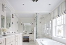 Bathrooms- S.B. Long Interiors / Collection of Bathrooms designed by S.B. Long Interiors