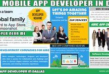 Hire A Mobile App Developer In Dallas