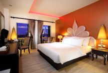 Interior of Chillax Resort Bangkok / Chillax Resort Bangkok- The most romantic Hotel in Bangkok with an amazing interior design along with romantic rooms and rooftop swimming pool.