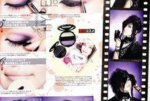 Visual Kei makeups