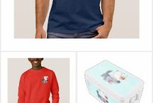 Cute Cartoon Wolves T-shirts, gifts and accessories by Cheerful Madness!! at Zazzle
