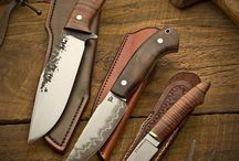 Knives and guns / Cool knives axes and so on