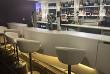 Project DFMK - Commercial / #solidsurface commercial projects using #corian #himacs #hanex