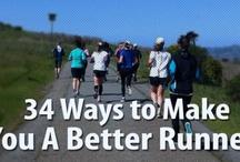 Oefen / running, exercising,