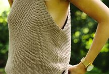 Summer Knits / Knit creations you can wear in warm weather / by Knitca