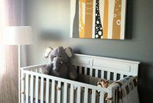 babyroom elephants / by Tiffany McNett Fisher
