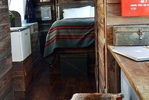Airstream Interior Design / Airstreams come in all shapes, sizes and styles.  Here are some fantastic ideas on how to create your own personal style with your home on wheels.