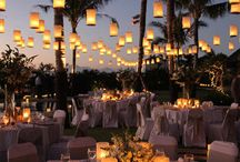 Wedding Lighting Ideas / To achieve an atmospheric wedding good lighting is the key, this board shows different ideas for how your wedding night and day will be in their best light all the time