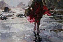 Peinture femme