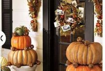 front porch and mantle ideas / by Judy Askew