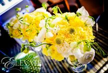 Bouquets: Yellow and or green