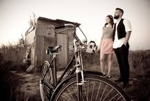 Bicycle - Photograph Session I / Work made in Aveiro with Humber and BSA bicycles.