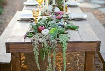 Styled Shoot / Let's begin pinning items we love, what we want to see, and fresh ideas to kick start our design process!