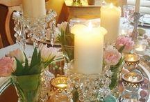 Свечи и подсвечники в интерьере... / Интересные идеи