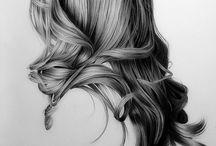 Dessiner les cheveux draw hair