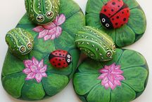 Painted & decorated Rocks