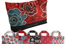Gorgeous Reusable Bags / We love reusable bags!  They are awesome for the planet, and can be so fashionable.