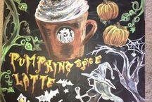 Chalkboards / by Jessica Limb