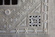 Cutwork / Cutwork são trabalhos em reticello, lefkara e whitework (incluindo bordado inglês)