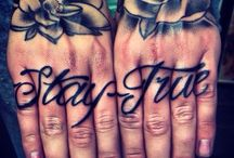 hands tatoos / by T. D