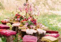 Inšpirácie - Svadba, párty na jar v prírode/Inspirations - Wedding, Party in Spring in Exterier