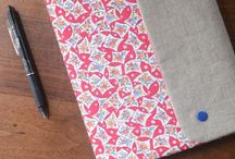 sewing bookcover