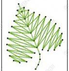Varrott képek(fonalgrafika)