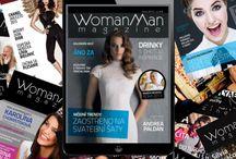 WomanMan Style / Titulky posledných vydaní časopisu WomanMan magazine. Máte už ten svoj? Môžete si ho jednoducho objednať cez predplatné na webe www.womanman.sk