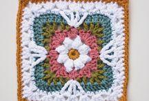 Crochet granny square patterns / by Vardit Dafni