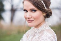 Bridal Headpiece / Wedding Veils & Headpieces: When you've found your dream gown, it's time to complete the bridal look with the perfect headpiece. View trendy wedding headband, hair comb, crown, hair pins and more here.