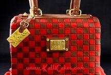 Purse - Handbag - Bag Cakes / Purse - Handbag - Bag cakes from CakesDecor.com