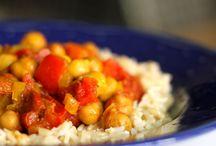 vegetarische curry's