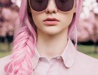 Pink Hair / I really love pink hair...