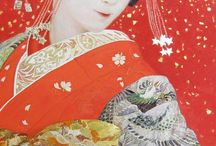 Art Of Japanese Beauty In Kimono