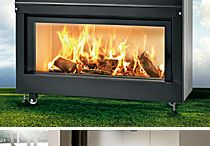 Caminetti Montegrappa USA / Caminetti Montegrappa Exclusively imported By Fiamma Llc. in North America. EPA Phase II Qualified wood burning fireplace.