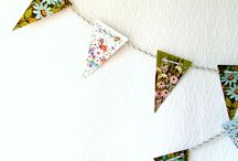 Abode - bunting & wreaths