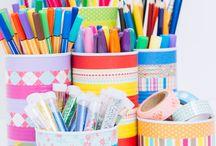 PARA EL COLE / Manualidades e ideas DIY para el colegio