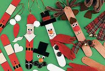 Kid's Holiday Crafts / A round-up of some of PPP's favorite holiday and winter crafts for little ones.