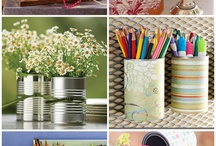 Recycled cans / Cans
