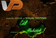EID GREETINGS / EID GREETINGS FROM VISYS / by VISYS Visual Systems
