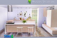 TS4 - Kitchen / ts4, the sims 4, ts4cc, cc, sims 4 kitchen, kitchen