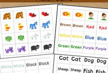 printable - pre K - matching game