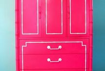 Colorful Furniture - pink/coral / by sheherezade85