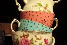 vintage tea party / Lovely vintage kitchenalia