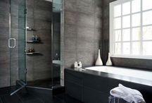 Inspiratie pentru baie / Inspirational bathrooms.